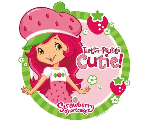 Strawberry Shortcake Edible Cupcake Toppers Decoration