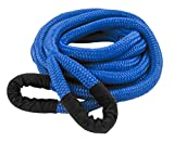 DitchPig 448531 Kinetic Energy Vehicle Recovery Double Nylon Braided Rope with Mesh Bag, 7/8'' x 30'