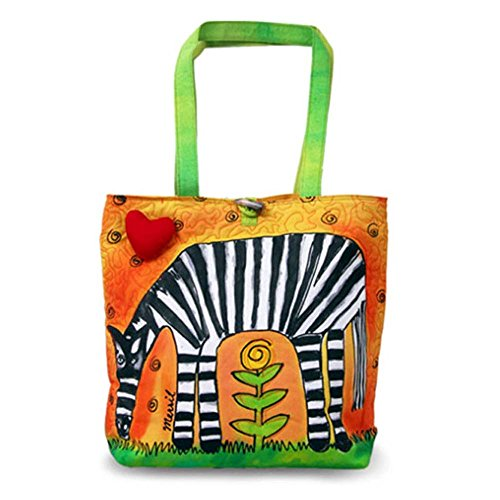Bright Bags Zebra Large Stylish/Colorful Tote Bag