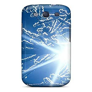 Galaxy Cover Case - Snowflake Protective Case Compatibel With Galaxy S3 by lolosakes