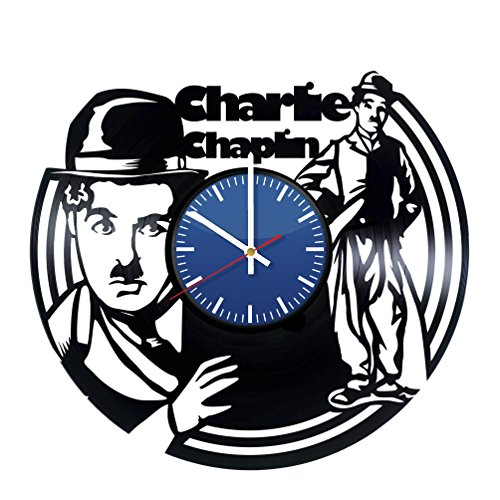 Dictator Costume Set (Charlie Chaplin Vinyl Record Wall Clock - Contemporary and Creative Bedroom Wall Decor - Modern Comic Fan Art - Best Gift Idea For Men and Women)