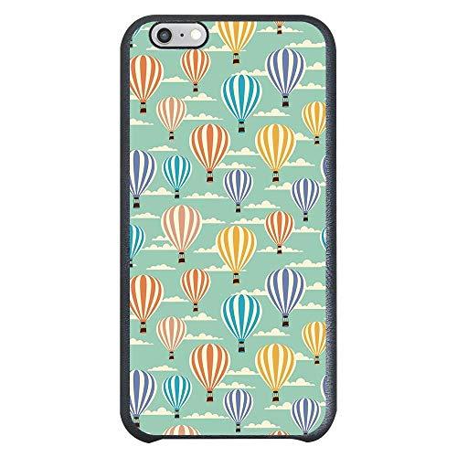 Capa Intelimix Couro Cinza Apple iPhone 6 Balões - BY14