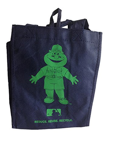 Forever Collectibles Boston Red Sox Reusable Blue and Green Lunch Bag - Small
