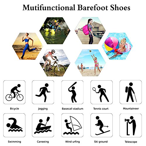 Aerobics Yoga Beach Shoes Mens Socks Shoes for Dry Womens Water Swim Shoes Quick Pool Purple Aqua Surf Water tqUwa6xn