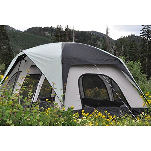 Black Pine Sports Fort Pine 10-Person Classic Tent