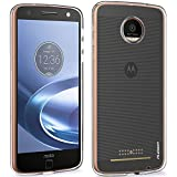 Moto Z Force Case, PLESON [Tou] Motorola Moto Z Force Case Cover, Ultra Slim Crystal Clear Case Lightweight /No Bulkiness/Anti-slip/ Scratch Resistant Soft TPU Protective Case for Moto Z Force