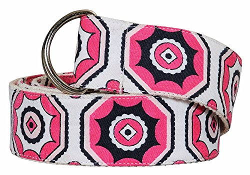 Equine Couture Kelsey Belt, Hot Pink, XL (Equine Couture Kelsey)