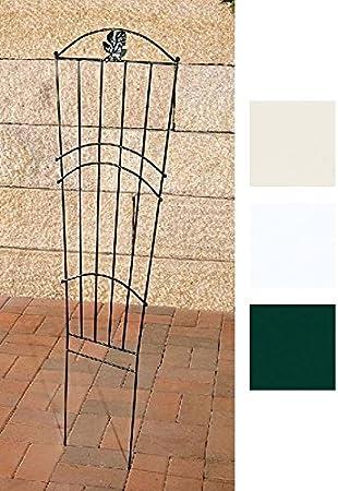 CLP Reja De Metal Lido para Jardín I Soporte De Plantas Enredaderas En Estilo Rústico I Valla para Decoraciones de Jardín I Color: Verde: Amazon.es: Hogar