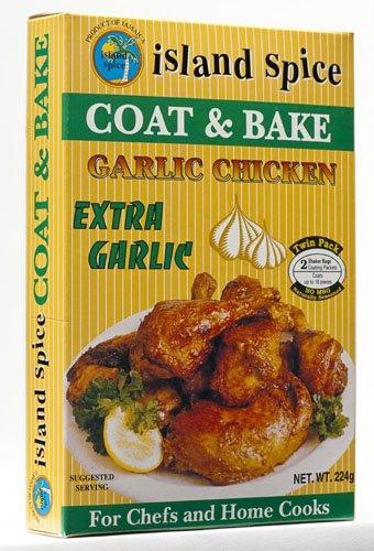 Coat & Bake Garlic Chicken (Mix Fish Bake)