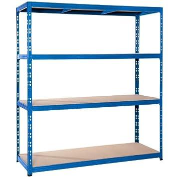 Pro Bau Tec pro bau tec weitspannsteckregal 350 kg 1800 x 1600 x 600 mm 10239
