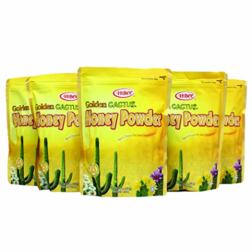 HiBee-Golden Cactus Honey Powder 16oz X 5 Ea