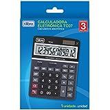 Calculadora de Mesa, Tilibra, TC07, Preto, 12 Dígitos, Grande