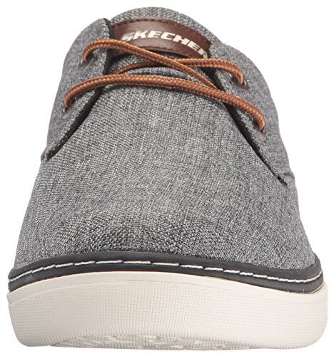 Mens Gadon Gray Shoes Grey Palen Skechers Relaxed Fit OHcaU