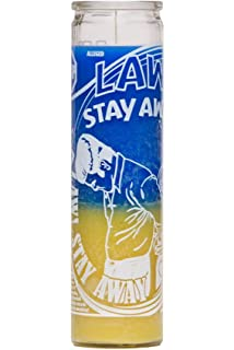 Law Stay Away Mystical Power Candle
