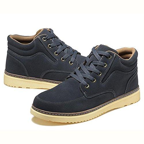 Men's Shoes Feifei Spring and Autumn Leisure Tide Shoes 5 Colors (Color : 03, Size : EU43/UK9/CN44)