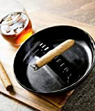 Fox Run 6121 Melamine Ash Tray, Regular, Black