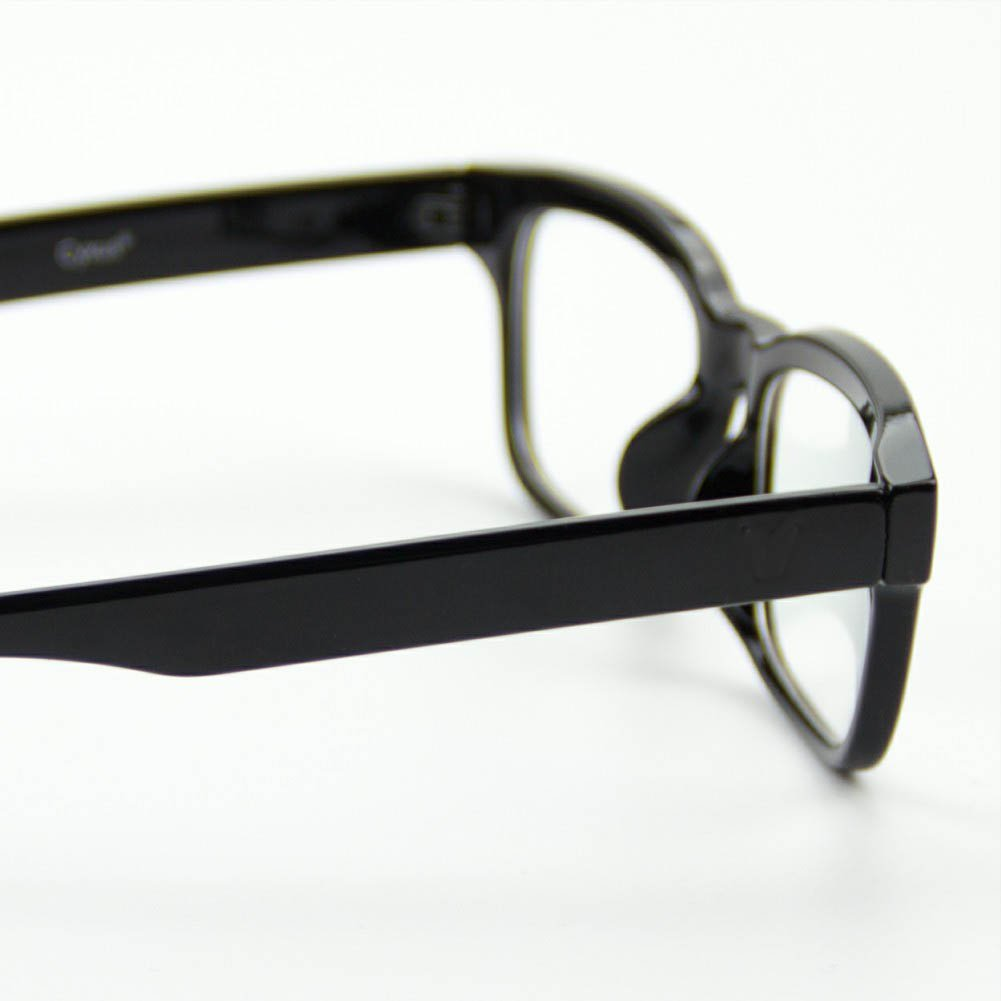 c38e410981 Cyxus [lentes transparentes vidrios ordinarios, Moda Unisexo Gafas ligeras  cómodas (Marco negro clásico): Amazon.es: Ropa y accesorios