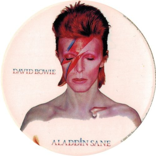 Aladdin Sane David Bowie Die Cut Sticker//Decal Square Deal Recordings /& Supplies 1-DCY-23126