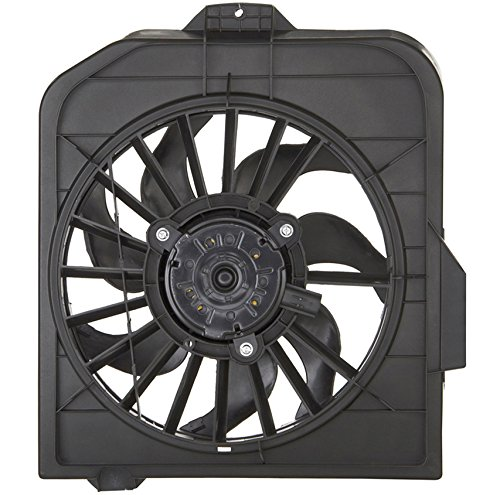 (AC A/C CONDENSER COOLING FAN FOR DODGE FITS CARAVAN TOWN/COUNTRY CH3113102)