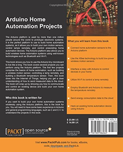 Arduino Home Automation Projects : Automate your Home using the
