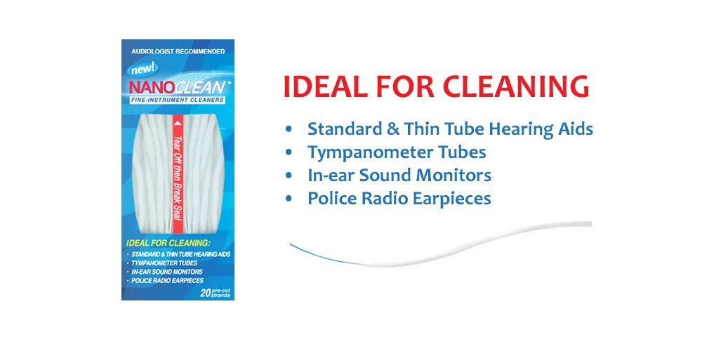 NanoClean Fine Instrument Cleaners - 100 Travel Packs (500 strands) by Nanoclean (Image #1)