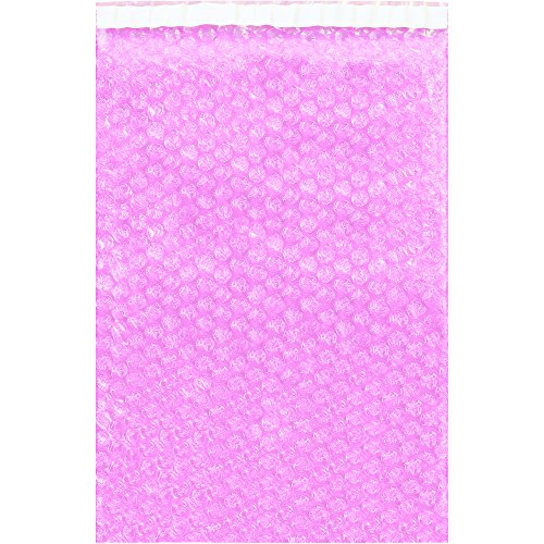 Partners Brand PBOB1215AS Anti-Static Bubble Pouches, 12