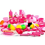 Cooking Toys For Children 46PCS Pretend Play Cutting Food Set