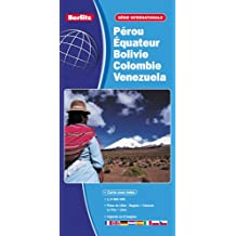 Pérou, Equateur, Venezuela, Bolivie, Colombie