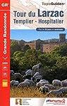 Tour du Larzac, Templier - Hospitalier par Fédération française de la randonnée pédestre