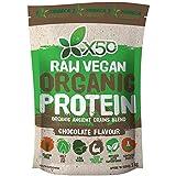 X50 Raw Vegan Organic Protein Chocolate Flavour - 1 Kg Pack