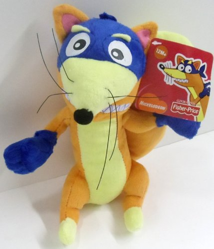 48a22fc4b72 Image Unavailable. Image not available for. Color  Dora the Explorer  8 quot  Plush Swiper Doll