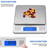 Smart Weigh Digital Pro Pocket Scale with Back-Lit