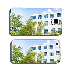 Office building - modern building and tree cell phone cover case Samsung S6