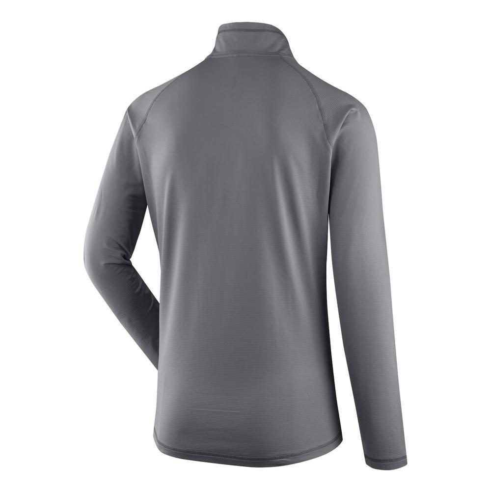 SALEWA Ortles Cubic Pl M L/S tee tee tee Camiseta Interior, Hombre, Gris (Quiet Shade), 46/S 96e240