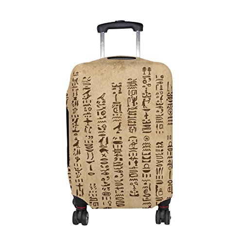 Price comparison product image Egyptian Decor Travel Luggage Protector Baggage Suitcase Cover Fits 26-28 Inch Luggage