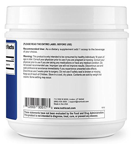Nutricost Lactase Powder 500 Grams - Pure, Non-GMO, Gluten Free, High Quality Lactase Powder by Nutricost (Image #2)