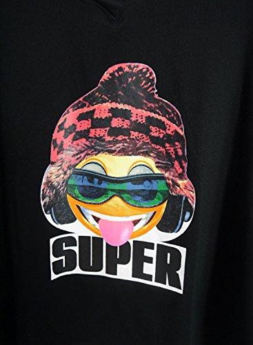 Futurino - Camiseta - para mujer negro