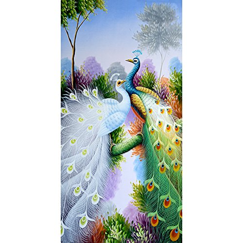 Peacock Diamond Embroidery 5D Diamond DIY Painting Craft Home Decor
