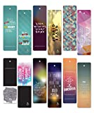 Launching Sales! 60 pcs Encouraging Bookmarks Set - Colorful Cool Bookmark- Best Gift for Him and Her - Inspirational - Positive Thinking Bookmarks