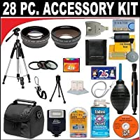 28 PC ULTIMATE SUPER SAVINGS DELUXE DB ROTH ACCESSORY KIT, INCLUDES FLASH, LENSES, FILTERS, ACCESSORIES AND MUCH MORE! For The Canon EOS 1D Mark IV SLR Digital Camera Which Has Any Of These (18-55mm, 75-300mm, 50mm 1.4 , 55-200) Canon Lenses