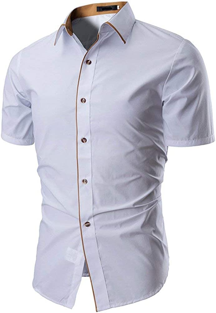 Camisa De Los Hombre De Casual Modernas De Fibra Bambú ...