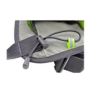 Multipurpose Waist Bag for Men and Women, Sports Travel Hip Bag with Water Bottle Holder and Cell Phone Pocket-Green
