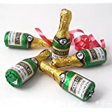 Cocoapod--Foiled Chocolate Champagne Bottles X10