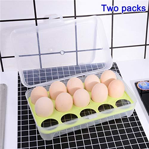 Geapy Huevos para Nevera, Soporte para Huevos, Bandeja para ...