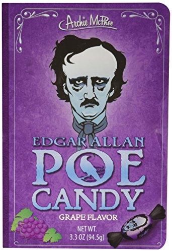 Archie McPhee Edgar Allan Poe Candy Book