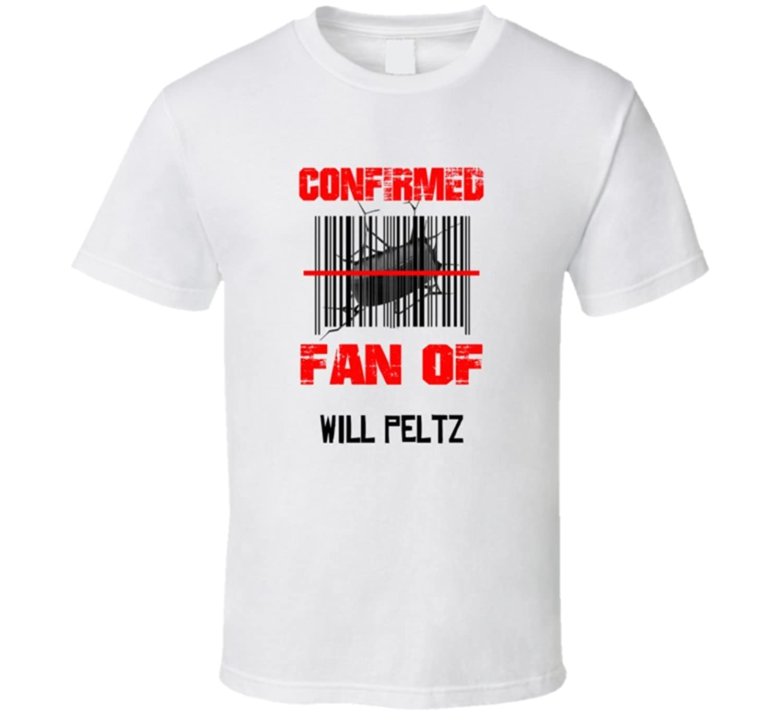 Will Peltz NHL Scanned Barcode Fan T shirt 2XL White