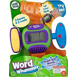 LeapFrog Word Whammer Get Ready For Kindergarten In a Fun And Active Way