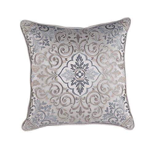 Croscill Vincent Fashion Pillow Decorative Pillow, Slate Blue Croscill Blue Decorative Pillow