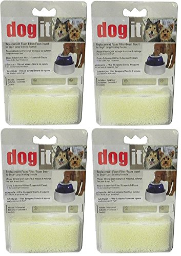 Clear Replacement Foam - Dog-It Fresh and Clear Replacement Foam 4- Pack