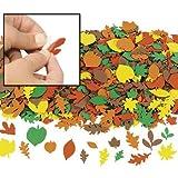 Foam Fall Leaf Shapes - 500 pc - Craft Leaves